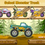 Monster Truck vs. Forest Screenshot