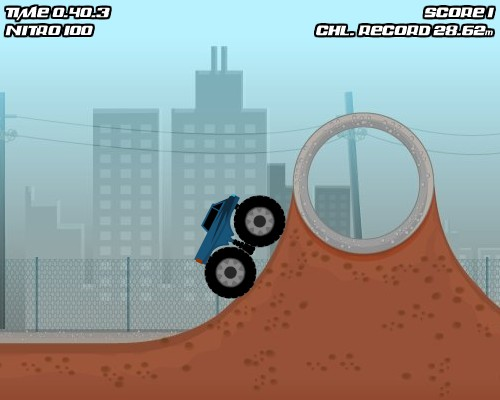Monster Truck Trials Game