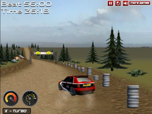 super rally challenge funny car games