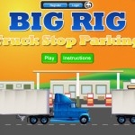 Big Rig: Truck Stop Parking Screenshot