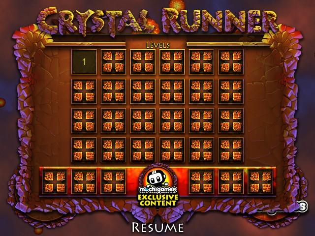 crystal runner funny car games