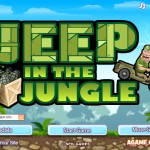 Jeep in the Jungle Screenshot