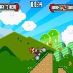 Mario Motocross Mania Screenshot