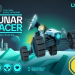LYNX Lunar Racer Screenshot