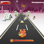 Crazy Santa Racer Screenshot
