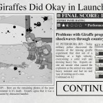 Soviet Rocket Giraffe Go Go Go! Screenshot