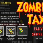 Zombie Taxi Screenshot