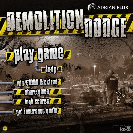 Demolition Dodge - Funny Car Games