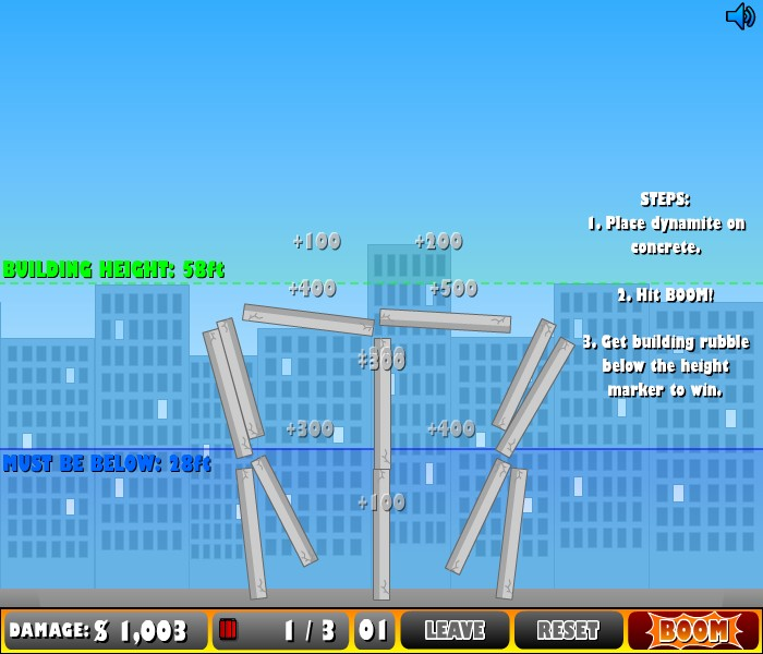 funny city games. Demolition City Game - Funny