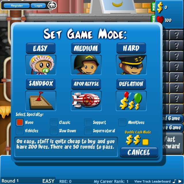 cool math bloons tower defense 3