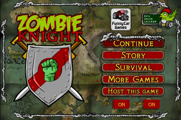 Zombie Knight - Mini PCGame